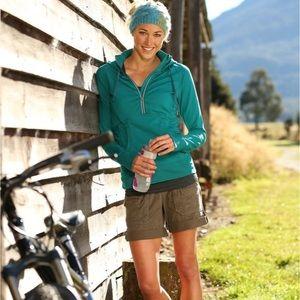 Athleta Coastal Cargo Shorts Hiking Casual Sz 14